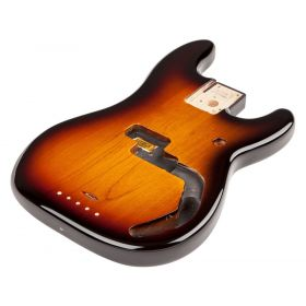 Fender Mexico/Mexican Precision/P-Bass Brown Sunburst Alder Body - 099-8010-732