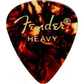 Fender 351 Classic Celluloid Guitar Picks - SHELL - HEAVY - 144-Pack (1 Gross)