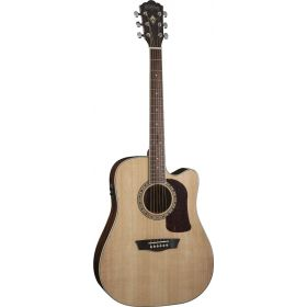 Washburn HD10SCE Heritage Series Dreadnought Cutaway Acoustic-Electric Guitar