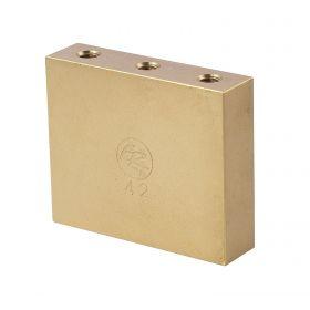 Genuine Floyd Rose FROFTB42 Original Fat Brass Tremolo Upgrade Block, 42mm