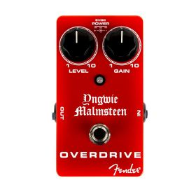 Fender Yngwie Malmsteen Signature Overdrive Guitar Effect Stomp Box Pedal