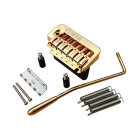 Babicz Full Contact Hardware FCH2PTGD 2-Point GOLD Tremolo for American Strat