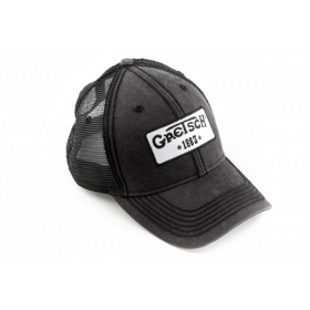 Genuine Gretsch Guitars Black Trucker Hat, 1883 Logo