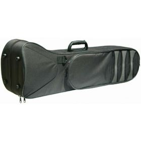 Kaces KBF-TM1 Black Padded Polyfoam Lightweight Trombone Travel Case