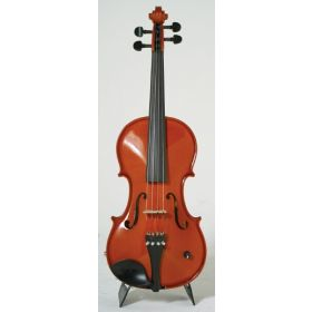 Barcus-Berry Vibrato-AE Acoustic-Electric Violin Outfit with Case - Natural