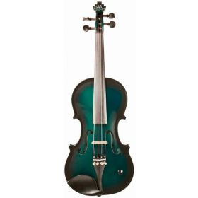 Barcus-Berry Vibrato-AE Acoustic-Electric Violin Outfit w/ Case - Green