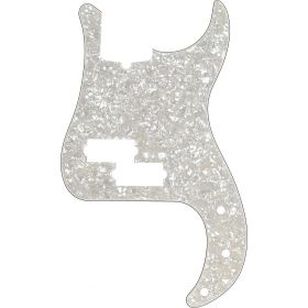 Genuine Fender Modern Standard Precision Bass Pickguard 13-Hole, Aged White Moto