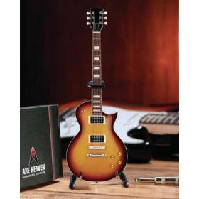 AXE HEAVEN Classic Tobacco Sunburst MINIATURE Guitar Display Gift, CG-296