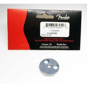 Genuine Fender Upper Neck Micro-Tilt 3-Bolt Guitar Tilt Disc / Disk