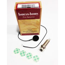 Barcus-Berry DISQIS Soundboard Acoustic Guitar Pickup w/ Internal Mount Jack
