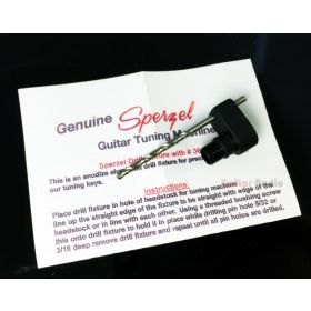 Sperzel Single-Pin Drill Jig - Guitar Tuner Peg Install Mounting Fixture