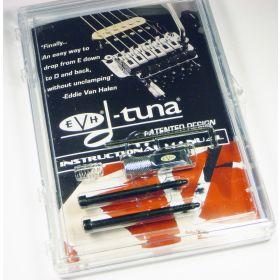 EVH Van Halen CHROME DTuna Drop Tuner for Locking Trem Floyd Rose Tremolo DT100C