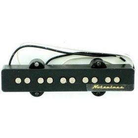 Genuine Fender 5-String Noiseless Jazz/J-Bass Bridge Pickup - Black