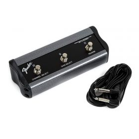 Genuine Fender 3-Button Footswitch - Channel/Gain/Reverb with 1/4-Inch Jack - 099-4064-000