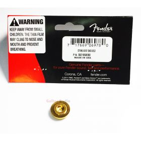 Genuine Fender J/P Jazz/Precision Bass String Retainer Guide - GOLD