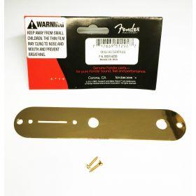 Genuine Fender USA & Mex Telecaster/Tele Original Vintage GOLD Control Plate