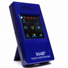 Snark SM-1 Blue TOUCH SCREEN Tap Tempo Touchscreen Metronome