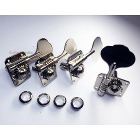 Genuine Fender Nickel GB-1 Gotoh Tuner Keys Set, Machines for Mustang Bass