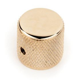 Genuine Fender Original Tele/Telecaster or Precision Bass Knurled Knob - GOLD