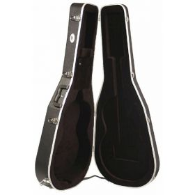 MBT ABS Molded Plastic Deluxe Hardshell Classical Guitar Case - MBTCGC