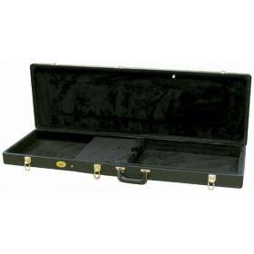 MBT Hardshell Universal Electric Bass Guitar Case - Black Tolex Covering