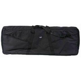 "MBT KBG4 51"" x 17.5"" x 6.5"" Padded Black Keyboard Gig Bag with Straps"
