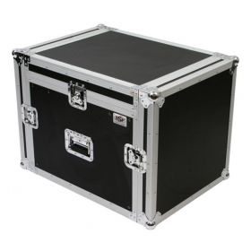 OSP 8-Space ATA Mixer Rack Road Tour Flight Case 12-Space Depth - MC12U-8