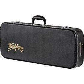 Washburn MC92 F-Style Mandolin Hardshell Case with Plush-Lined Protection