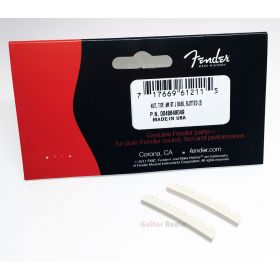 Genuine Fender American Standard Jazz/J Bass Slotted Neck Nut Pack - Pack of 2