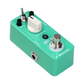"Mooer MOD1 Micro Series ""Green Mile"" Overdrive Guitar Effects Pedal"