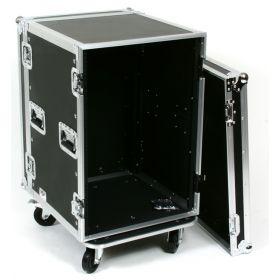 OSP 16-Space ATA 16U Deep Amp Rack Flight Road Tour Case - RC16U-20