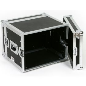 OSP 8-Space ATA 8U Shallow Effects Rack Road Tour Flight Case - RC8U-14