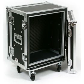 OSP 12-Space ATA Shock Mount Shallow Effects Flight Road Rack Case - SC12U-12