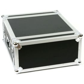 OSP 4-Space ATA Shock Mount Deep Amp Rack Road Flight Tour Case - SC4U-20