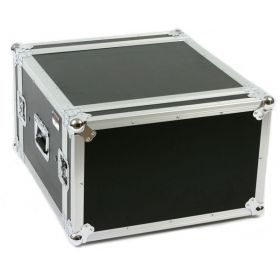 OSP 6-Space ATA Shock Mount Deep Amp Rack Road Flight Tour Case - SC6U-20
