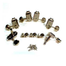 Kluson SD9005MN 3x3 Guitar Tuning Machines 3 Per Side - NICKEL