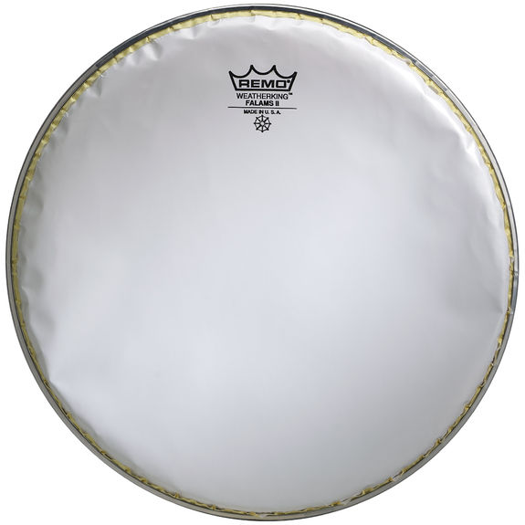 remo 14 smooth white falams ii snare side drum head ebay. Black Bedroom Furniture Sets. Home Design Ideas